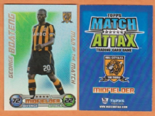 Hull City George Boateng Holland Man of the Match